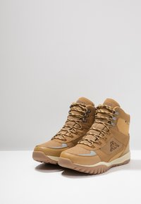 Kappa - SCORVA TEX - Hiking shoes - beige/black - 2