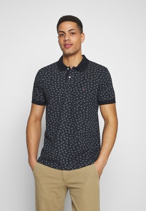 BUOY PRINT REGULAR POLO - Polo - blue
