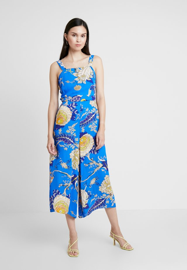 EXOTIC FLORAL STRAPPY  - Jumpsuit - blue/multi