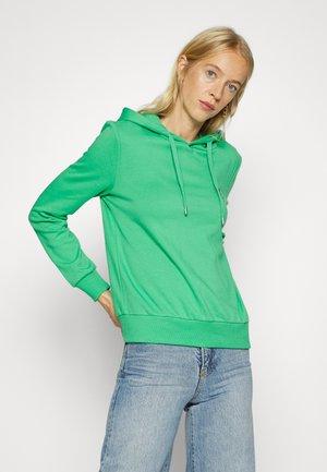 ONLNOOMI LOGO HOOD  - Sweatshirt - winter green