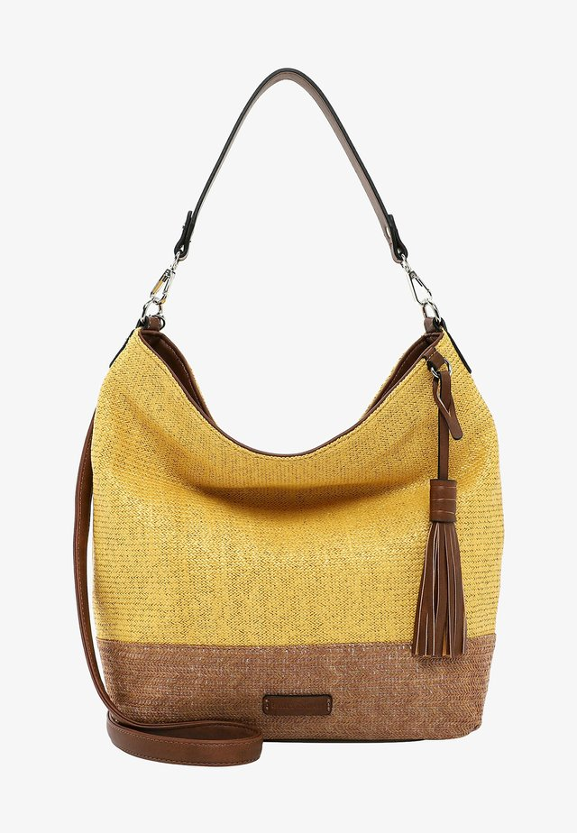 Shopping bag - yellow