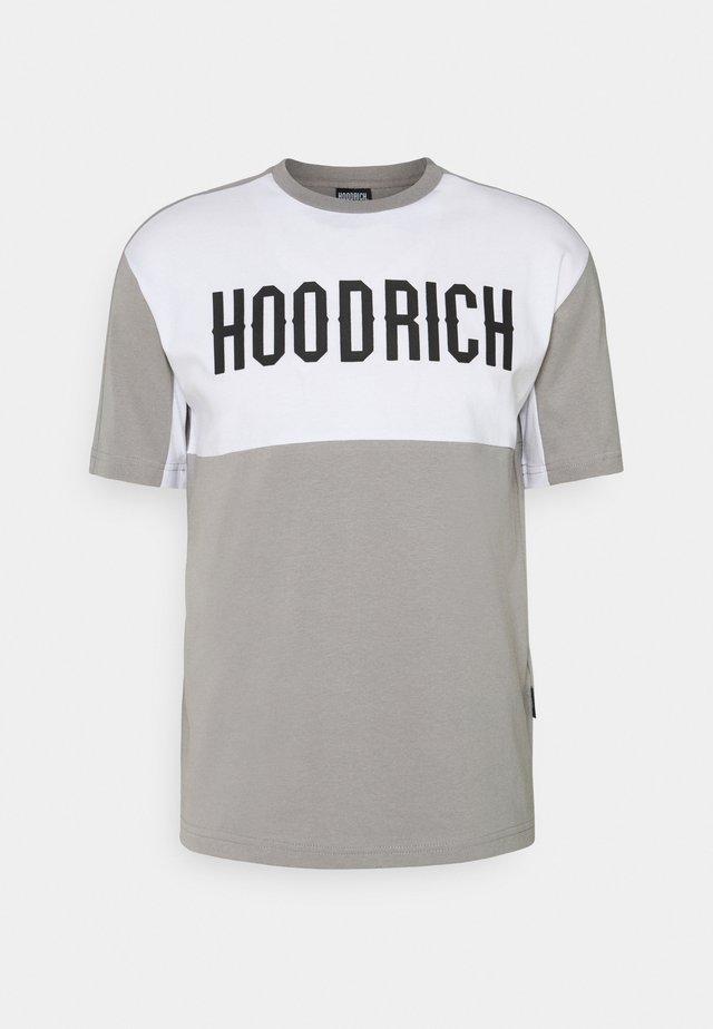 OG BLOCK - T-shirt print - grey/light grey