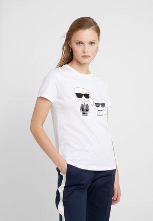 IKONIK CHOUPETTE TEE - Print T-shirt - white