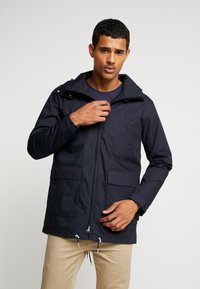 Makia - FISHTAIL JACKET - Parka - dark navy - 0