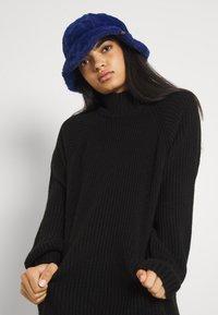 Noisy May - NMTIMMY DRESS - Strikket kjole - black - 3