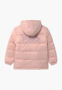 Fila - BROOKLYN PUFFER UNISEX - Winter jacket - sepia rose - 1