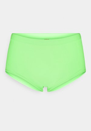 SUNSET DREAMS BOXER - Bikini bottoms - green