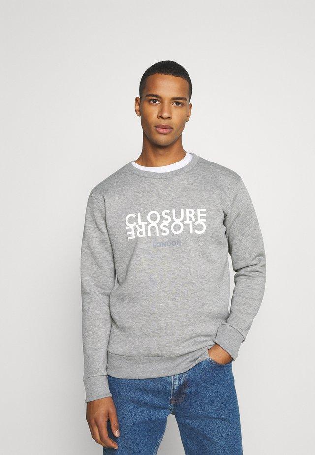 REFLECT CREWNECK - Sweatshirt - grey