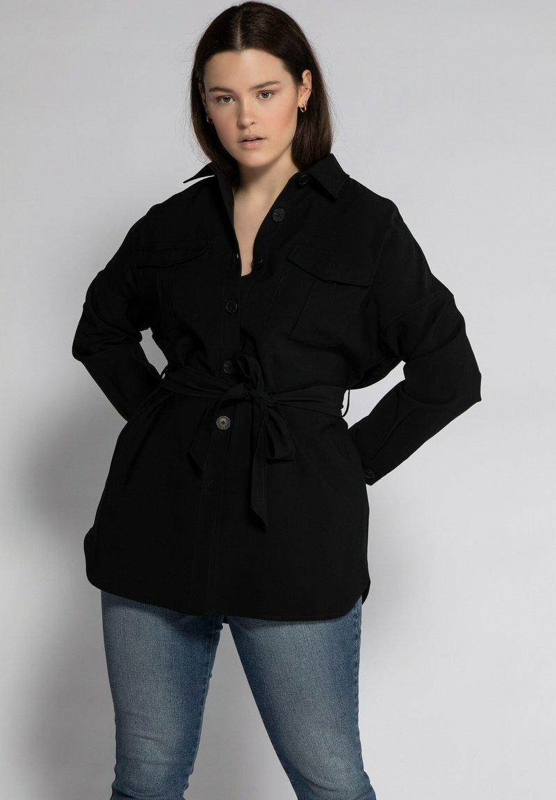 Studio Untold - Summer jacket - schwarz