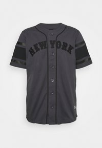 Fanatics - MLB NEW YORK METS FRANCHISE SUPPORTERS FASHION - Print T-shirt - black - 0