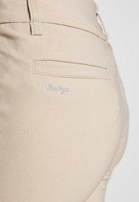 Daily Sports - MAGIC PANTS - Spodnie materiałowe - straw - 4