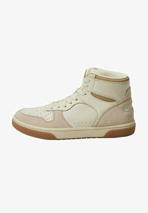 Sneakers hoog - ecru