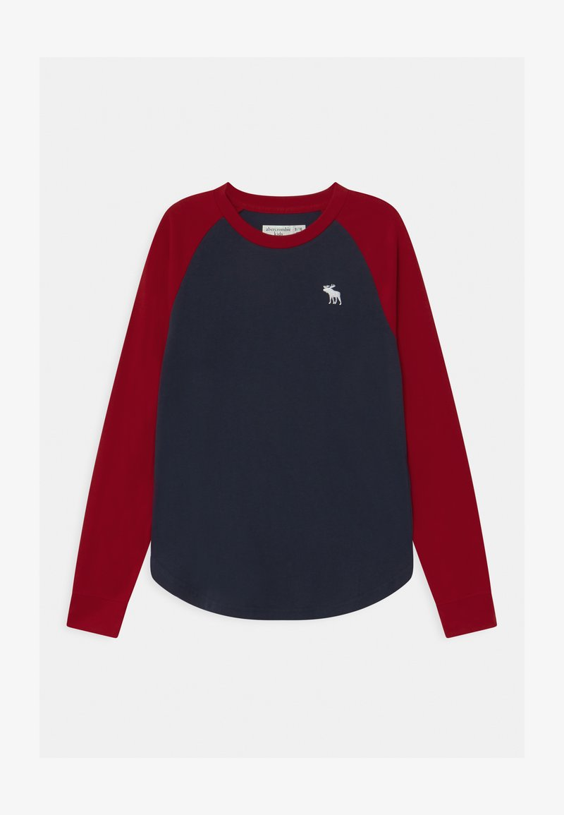 Abercrombie & Fitch - RAGLAN - Long sleeved top - navy