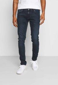 Nudie Jeans - TIGHT TERRY - Slim fit -farkut - blue revelation - 0