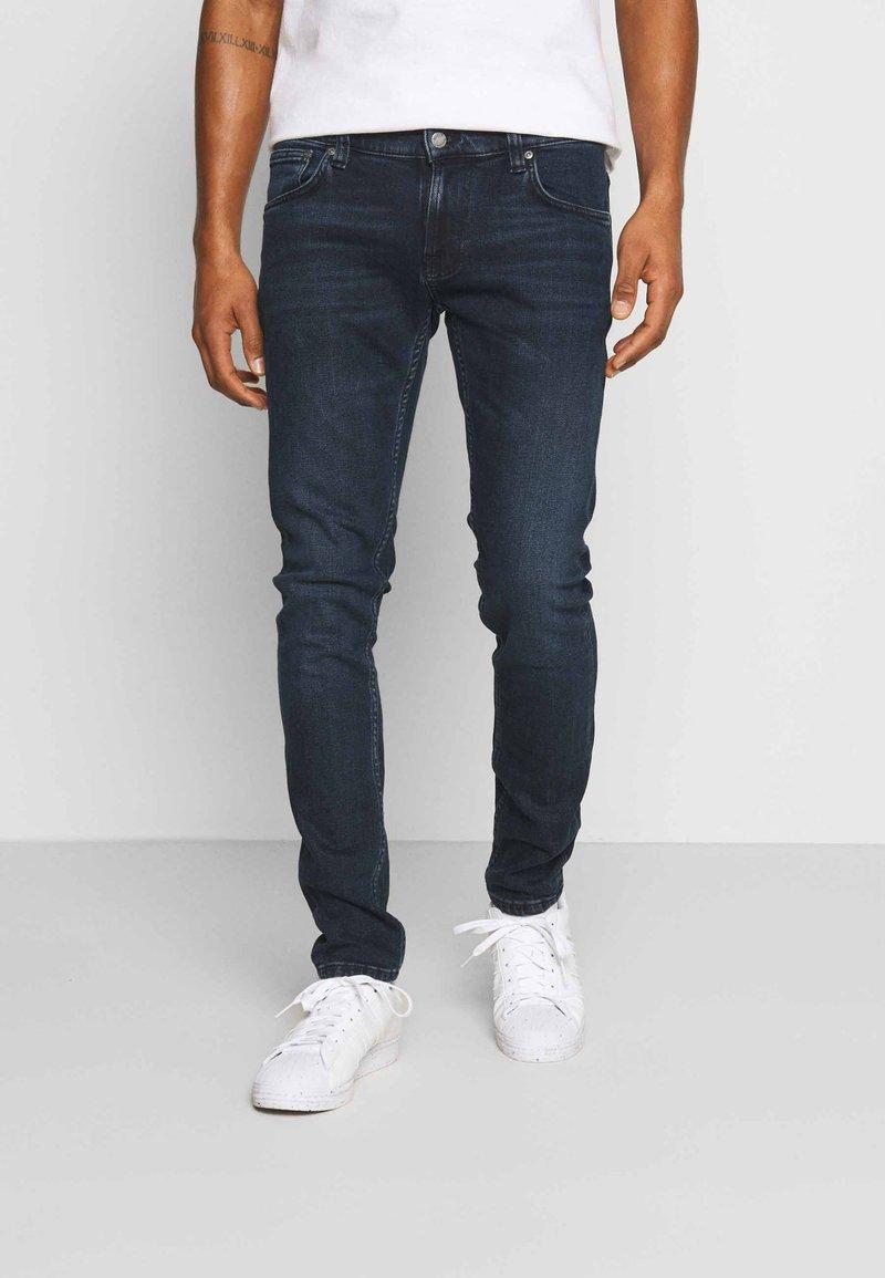 Nudie Jeans - TIGHT TERRY - Slim fit -farkut - blue revelation