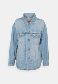 Levi's® - SHACKET TRUCKER - Giacca di jeans - pull up - 0