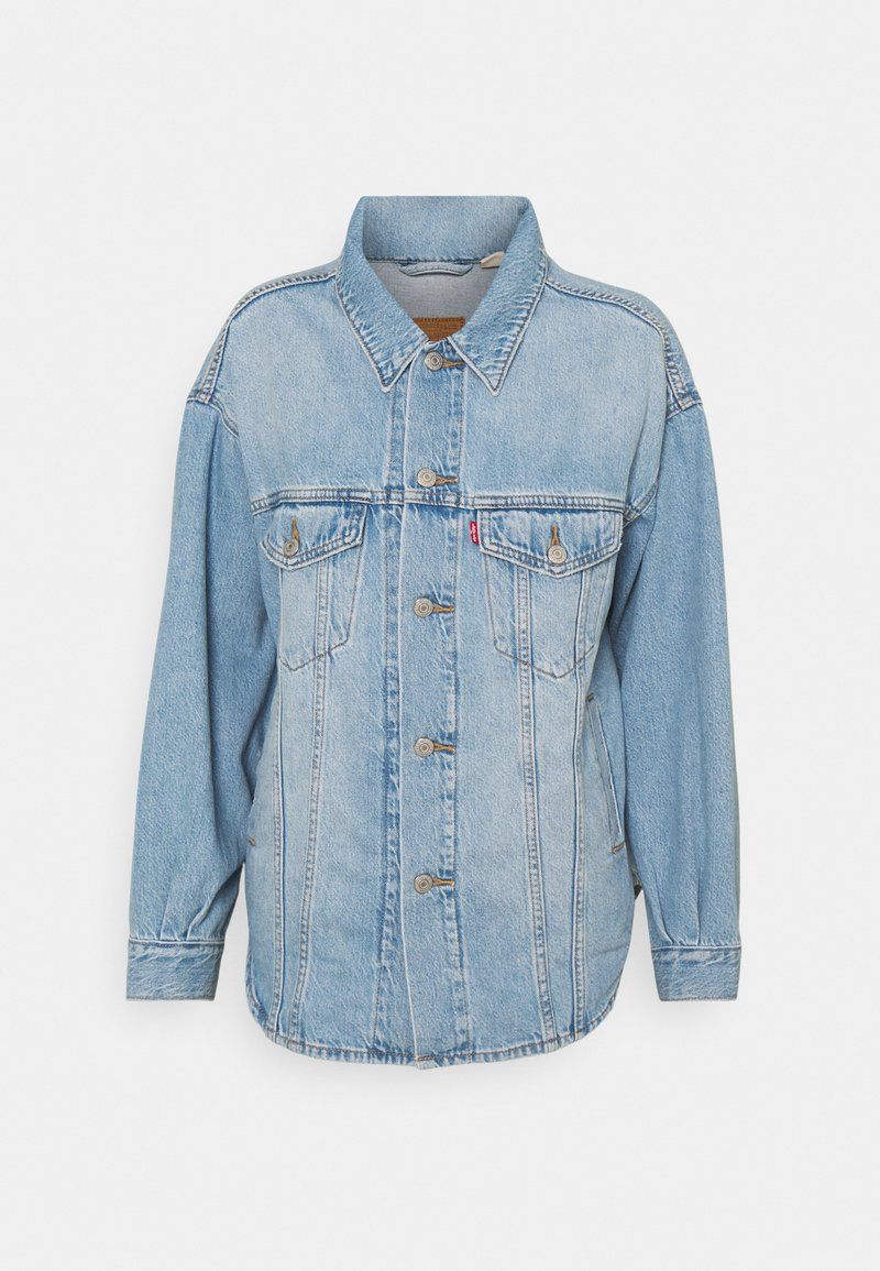 Levi's® - SHACKET TRUCKER - Giacca di jeans - pull up