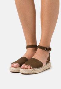 Esprit - CLARA  - Sandals - brown - 0