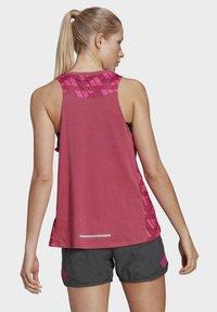 adidas Performance - T-shirt sportiva - pink - 2