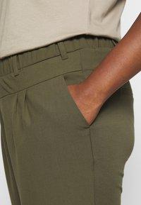 Kaffe Curve - PANTS - Trousers - grape leaf - 4