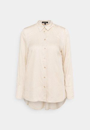 BLOUSE SLEEVE - Button-down blouse - winter sand