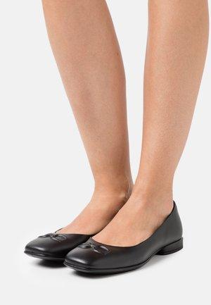 ANINE SQUARED - Ballerina - black