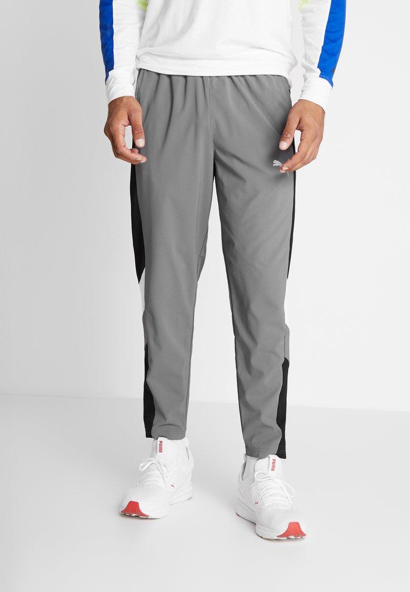 Puma - REACTIVE PACKABLE PANT - Outdoor trousers - castlerock black/white