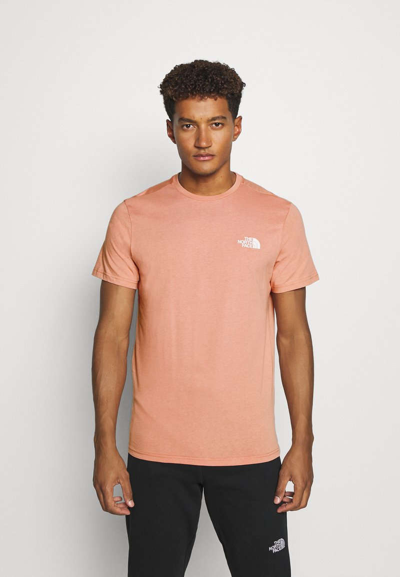 The North Face - MENS SIMPLE DOME TEE - Basic T-shirt - pink clay