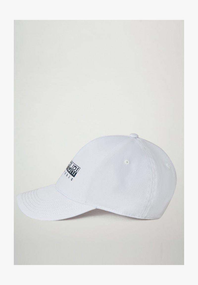 Napapijri - FRAMING - Cap - bright white 002
