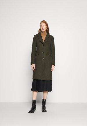 PAMELA COAT - Zimní kabát - dark army