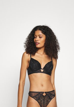 THE UNFORGETTABLE PLUNGE - Push-up bra - black