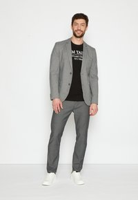 TOM TAILOR - DOBBY - Suit jacket - grey - 2