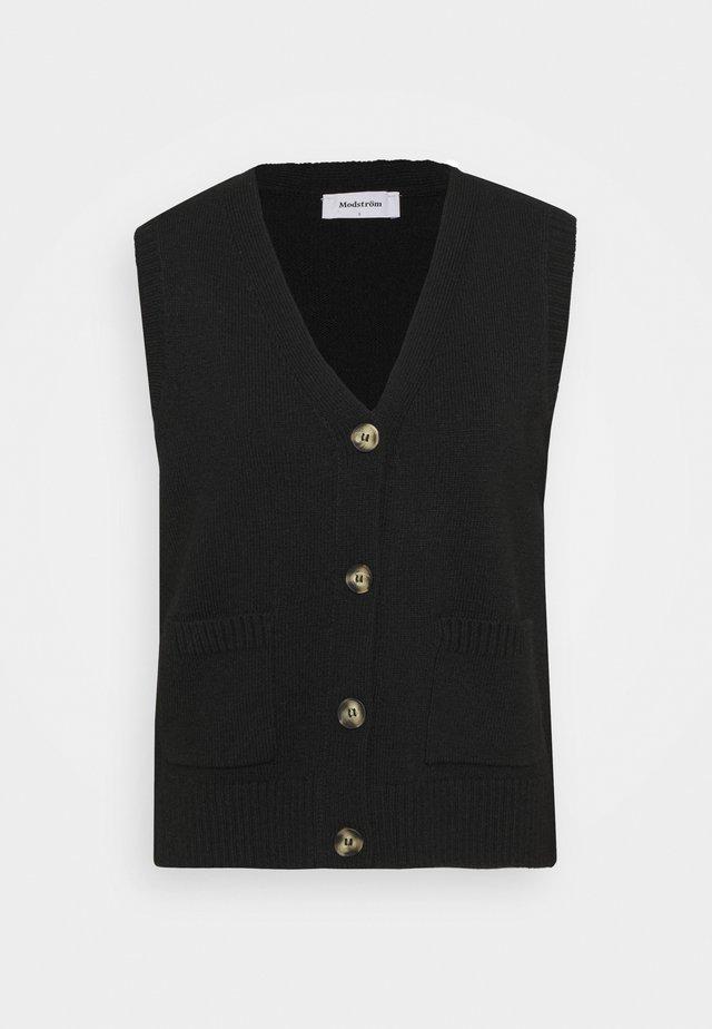 HEDVIG VEST - Vest - black