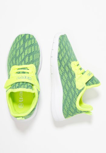 GIZEH - Sports shoes - lime/blue