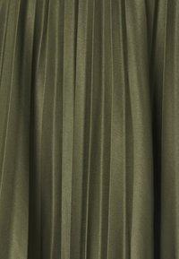 Dorothy Perkins Tall - PLEAT SKIRT - A-line skirt - khaki - 2