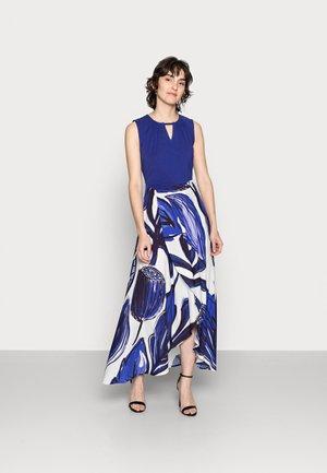 NATALIA WRAP DRESS - Vestito lungo - azure blue