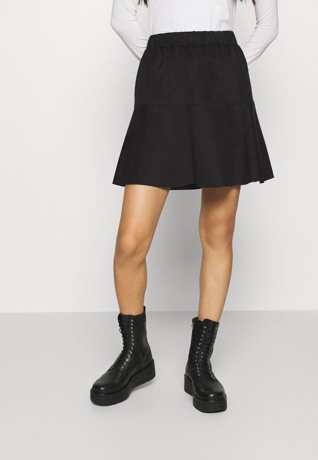VMSUMMERMY  - A-line skirt - black