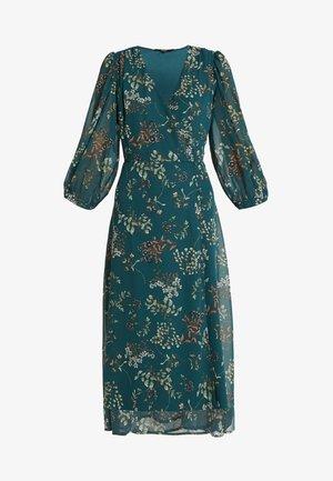 VMJULIE CALF DRESS  - Denní šaty - atlantic deep/julie