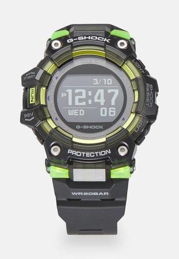 PHYSICAL LAB - Digitální hodinky - black/neon
