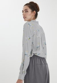 ICHI - Button-down blouse - alloy - 2