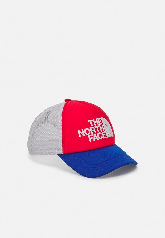 LOGO TRUCKER UNISEX - Cappellino - horizon red/blue