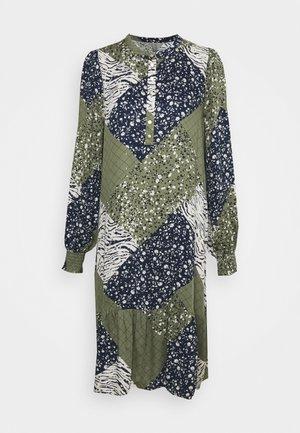 MILA DRESS - Day dress - burnt olive