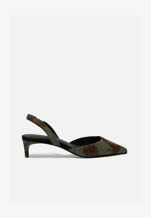 CAMO CALF HAIR - Classic heels - camo