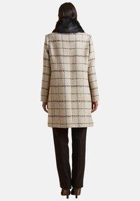 Elena Mirò - CON COLLETTO STACCABILE - Classic coat - beige - 2