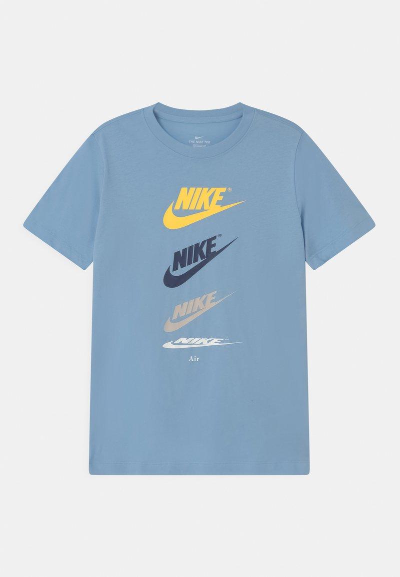 Nike Sportswear - FUTURA REPEAT - Print T-shirt - psychic blue
