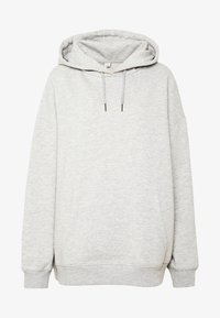 Nly by Nelly - OVERSIZED HOODIE - Hoodie - grey melange - 4