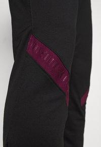 Nike Performance - PARIS ST GERMAIN - Pantalones deportivos - black/bordeaux/truly gold - 5