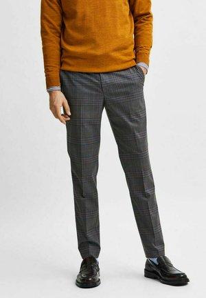 SLIM FIT  - Suit trousers - grey
