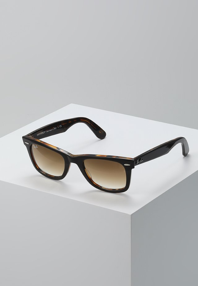 0RB2140 ORIGINAL WAYFARER - Gafas de sol - top brown on yellow havana
