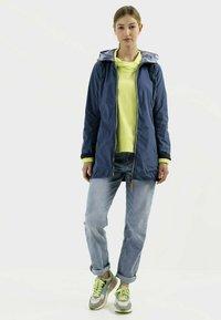 camel active - Reversible - Winter coat - blue - 1